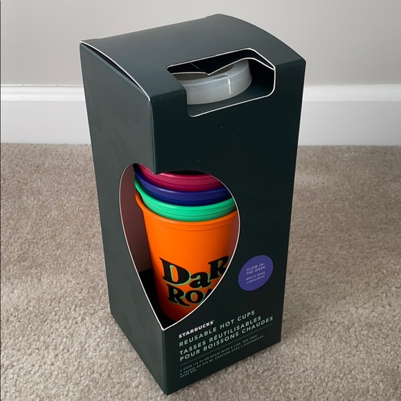Starbucks reusable hot cups Halloween New